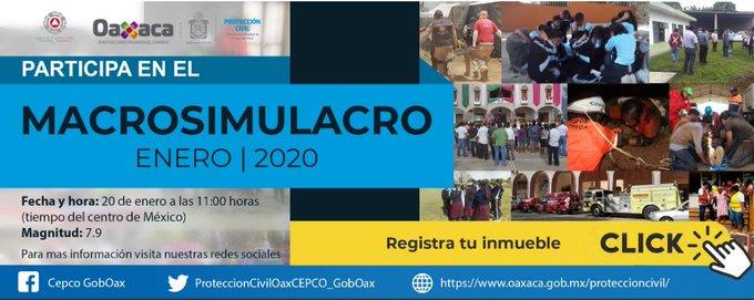 Hoy, habrá Macro Simulacro Nacional 2020 (07:30 h)
