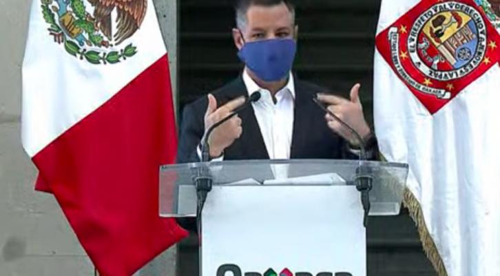 Oaxaca se mantiene en semáforo rojo, no habrá retorno a clases, ni se reanudarán actividades turísticas: Murat (19:42 h)