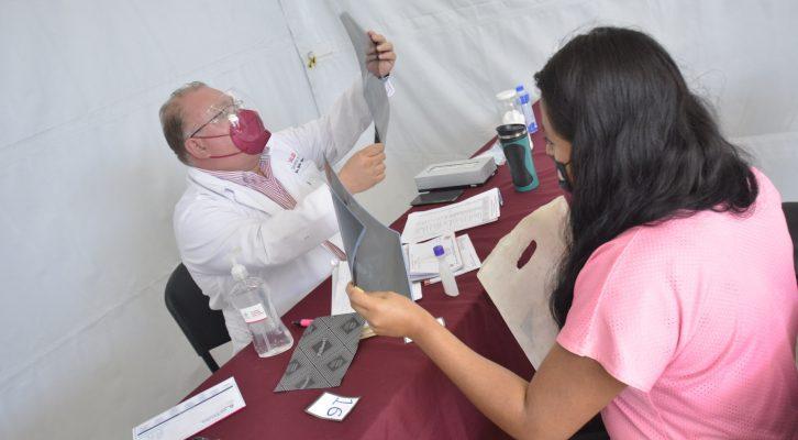 En San Luis Beltrán, coadyuva Ayuntamiento de Oaxaca en el cuidado de la salud comunitaria (19:00 h)
