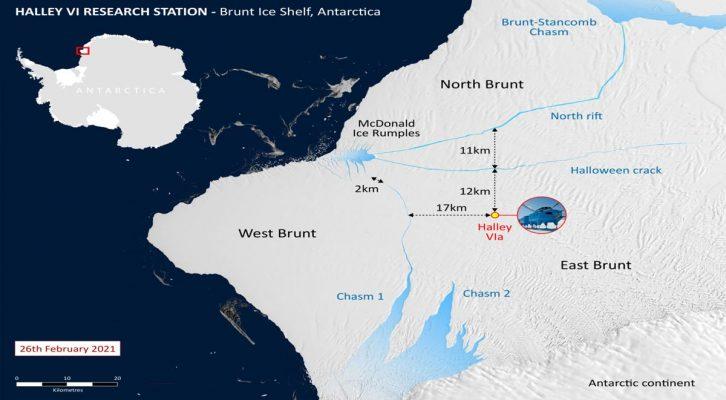 Enorme iceberg del tamaño de Londres se desprende de la Antártida (22:30 h)
