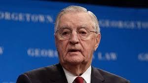 Murió a los 93 años, el exvicepresidente de EU, Walter Mondale (20:31 h)