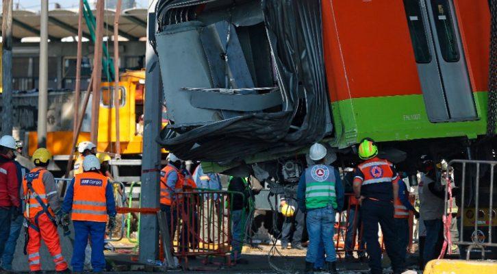 Sin aparecer 23 personas tras accidente en Línea 12 del Metro (14:30 h)
