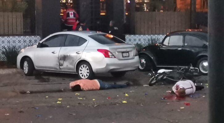 #Ojo Detonan artefacto explosivo en Salamanca; hay dos muertos (21:50 h)